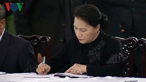 Lễ viếng Chủ tịch nước Trần Đại Quang - Ảnh 53.