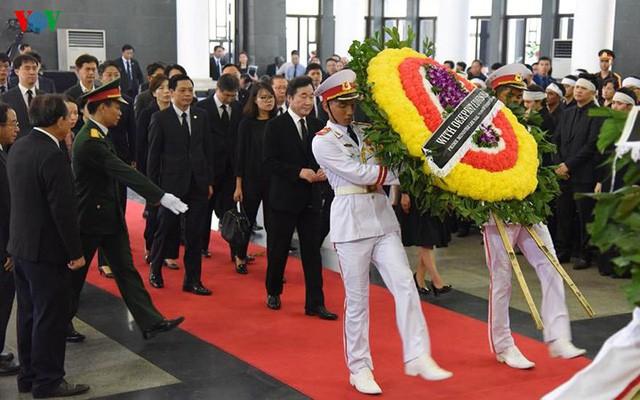Các đoàn đại biểu quốc tế viếng Chủ tịch nước Trần Đại Quang - Ảnh 9.