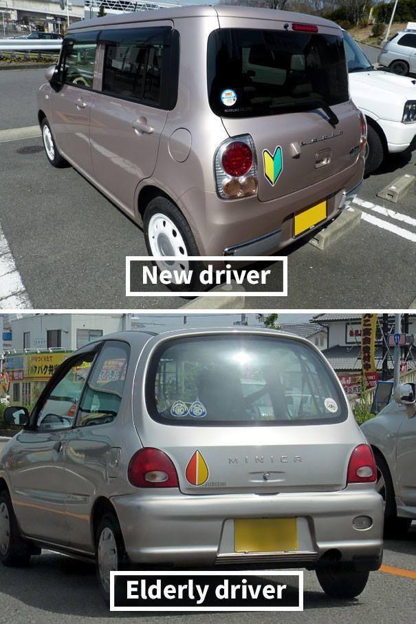 Đây là cách người Nhật báo hiệu mới lái xe, không chỉ là văn hóa mà được quy định thành luật - Ảnh 4.