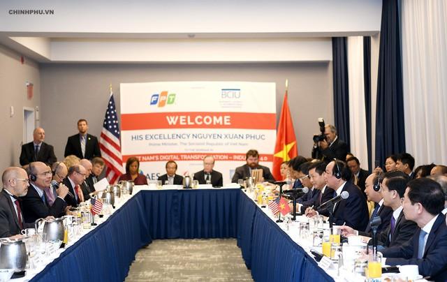 Thủ tướng gặp 40 tập đoàn lớn của Mỹ: Chúng tôi hồi hộp muốn biết các bạn muốn làm ăn gì, mở rộng như thế nào ở Việt Nam - Ảnh 1.