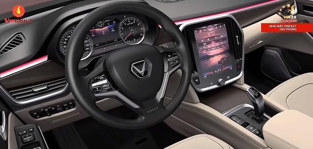 Hé lộ nhiều thông số xe VinFast trước giờ G: Động cơ tăng áp, hộp số 8 cấp, an toàn 5 sao, màn hình 10,5 inch - Ảnh 4.