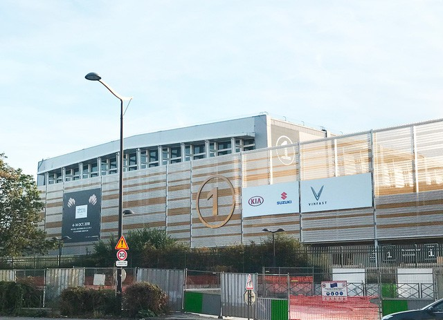 Chùm ảnh: Cận cảnh 2 xe VinFast được vận chuyển tới Paris Motor Show 14