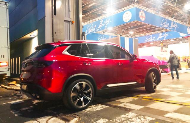 Chùm ảnh: Cận cảnh 2 xe VinFast được vận chuyển tới Paris Motor Show 11