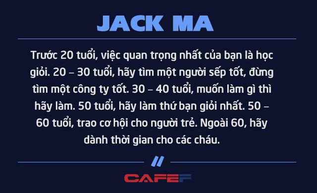 Jack Ma nghỉ hưu ở tuổi 54 vì không muốn chết ở văn phòng: Chúng ta không được sinh ra để dành toàn bộ thời gian cho công việc mà để tận hưởng cuộc sống và giúp những người khác tốt lên - Ảnh 5.