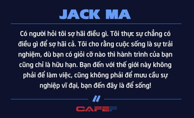 Jack Ma nghỉ hưu ở tuổi 54 vì không muốn chết ở văn phòng: Chúng ta không được sinh ra để dành toàn bộ thời gian cho công việc mà để tận hưởng cuộc sống và giúp những người khác tốt lên - Ảnh 8.
