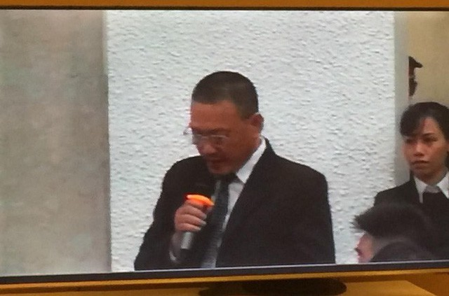 Xét xử ông Đinh La Thăng, Trịnh Xuân Thanh và đồng phạm: Các bị cáo được đưa trở lại phòng xử  - Ảnh 1.
