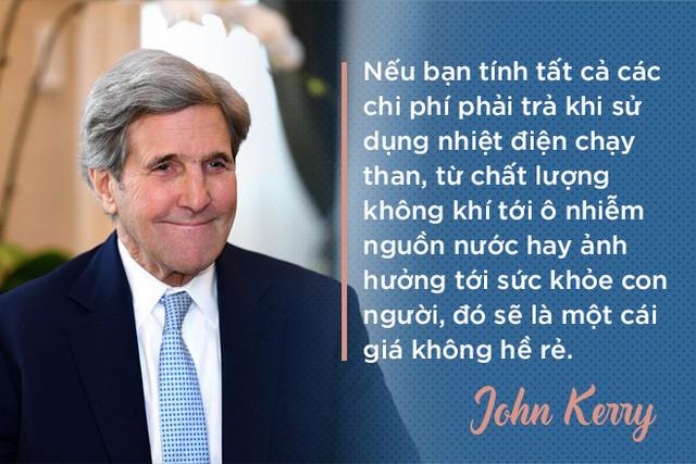 Cựu Ngoại trưởng Mỹ John Kerry: Chúng tôi sẽ giúp các bạn có nhà máy điện mặt trời, điện gió, bởi người Việt! - Ảnh 2.