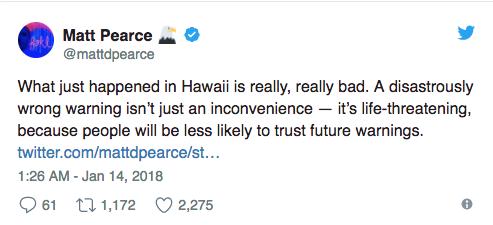 Người dân Mỹ được một phen hết hồn với báo động cảnh báo nguy cơ tên lửa đạn đạo tại Hawaii - Ảnh 2.