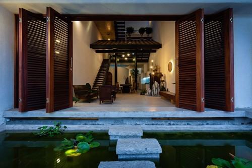 photo 1 1516074641343 - Ngắm vẻ đẹp hoài cổ của căn nhà 2 tầng ở Bình Dương tuyệt đẹp