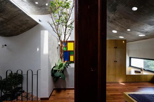 Ngắm vẻ đẹp hoài cổ của căn nhà 2 tầng ở Bình Dương xuất hiện trên báo ngoại - Ảnh 15.