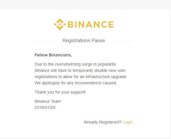 Nhà đầu tư sẽ không thể lập tài khoản mới trên 3 sàn giao dịch lớn Binance, Bitfinex, Bittrex - Ảnh 3.