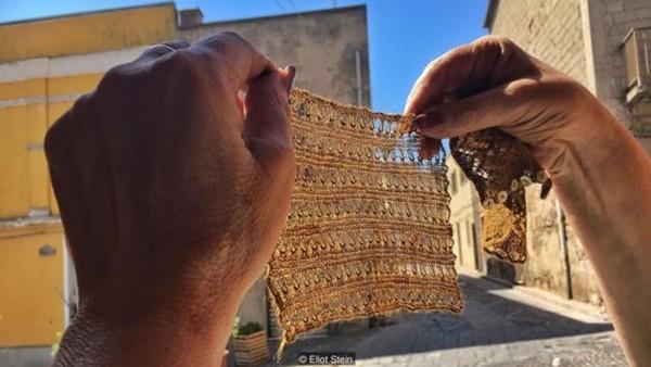 Truyền thuyết về lụa biển - thứ vải vóc hiếm bậc nhất thế giới sắp biến mất khi chỉ còn một truyền nhân cuối cùng - Ảnh 4.