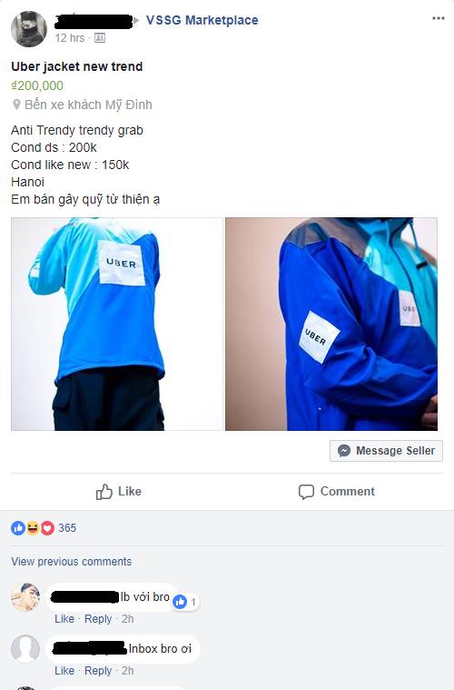 Đồng phục UberMOTO bất ngờ thành trào lưu thời trang mới của giới trẻ Việt, được lùng mua gay gắt trên MXH - Ảnh 5.