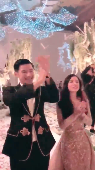 Thiếu gia Tập đoàn Tân Hoàng Minh tổ chứcđám cưới, Seung Ri, Kim Lim là khách mời - Ảnh 7.
