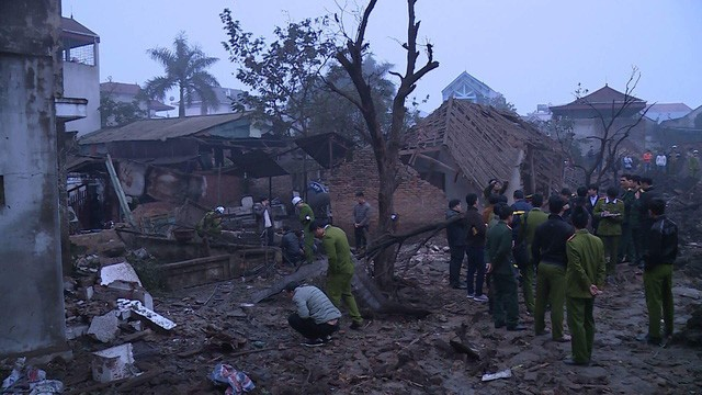 Nổ kinh hoàng ở Bắc Ninh lúc rạng sáng khiến 2 cháu bé tử vong, hàng chục ngôi nhà bị san phẳng - Ảnh 9.