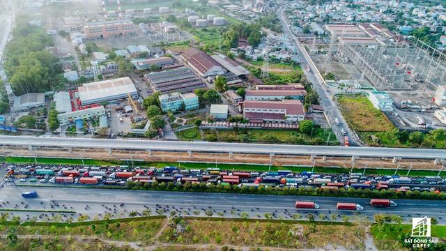 Cận cảnh tiến độ hàng loạt dự án giao thông trọng điểm của TP.HCM - Ảnh 10.