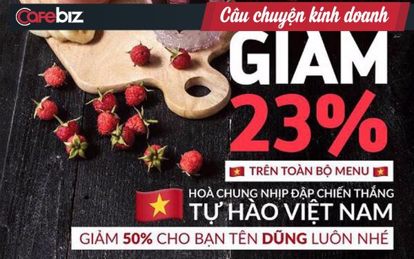Sau chiến thắng kinh thiên động địa của U23 Việt Nam, thương nhân Việt mếu máo vì hứa trả thưởng quá hậu: Hay bài học Marketing theo sự kiện - Ảnh 2.