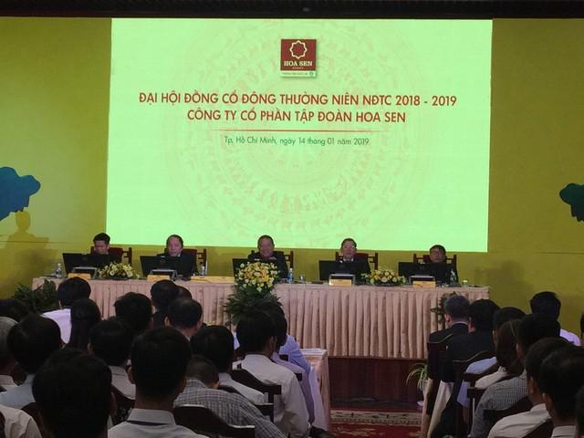 Chủ tịch Lê Phước Vũ lên núi sống tĩnh tâm khi Hoa Sen kinh doanh đi xuống - Ảnh 3.