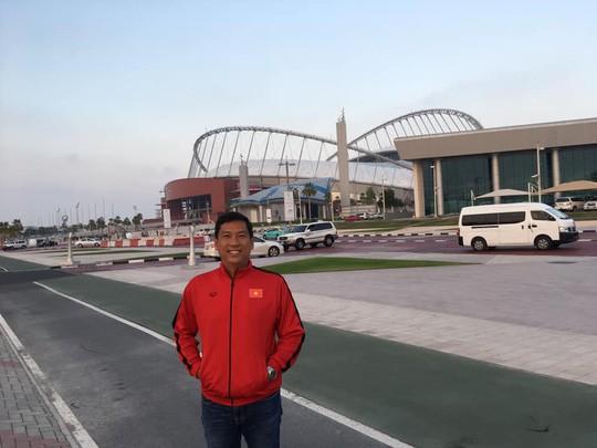 Tuyển Việt Nam xả trại, tham quan các siêu công trình ở Qatar - Ảnh 2.