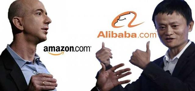Đại chiến Amazon-Alibaba ở phân khúc Việt Nam - Ảnh 1.