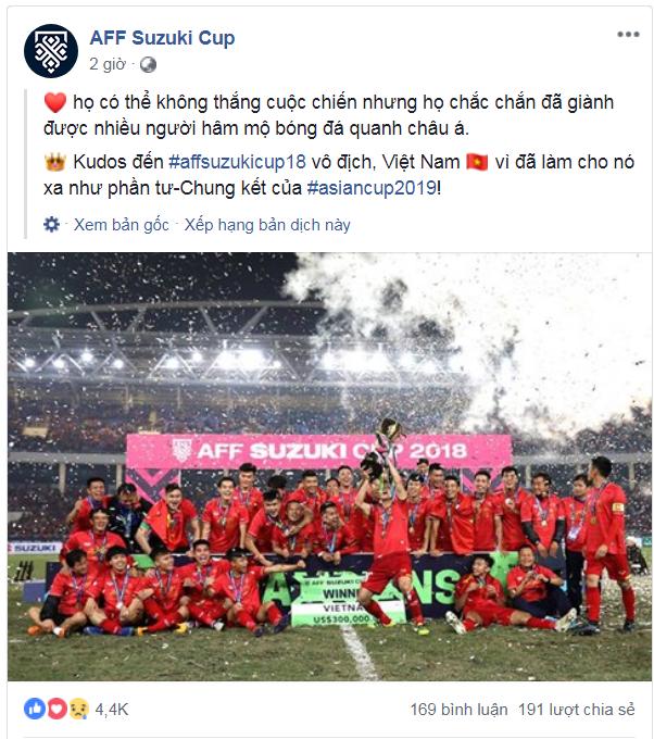 Cả Đông Nam Á tự hào về màn trình diễn tuyệt vời của tuyển Việt Nam trước Nhật Bản - Ảnh 1.