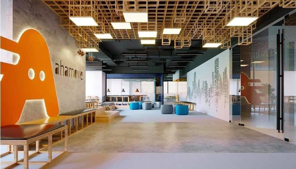 """ahamove - photo 4 15467375180601379106608 - Ngắm văn phòng làm việc """"đẹp nhất Vịnh Bắc Bộ"""" của Startup công nghệ Ahamove"""
