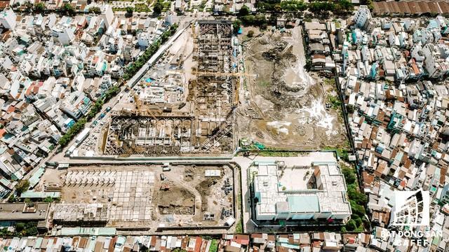 Cận cảnh dự án khu đất vàng tại Quận 4 của Sabeco HP có nguy cơ bị thu hồi - Ảnh 2.