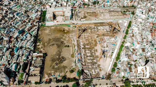Cận cảnh dự án khu đất vàng tại Quận 4 của Sabeco HP có nguy cơ bị thu hồi - Ảnh 3.