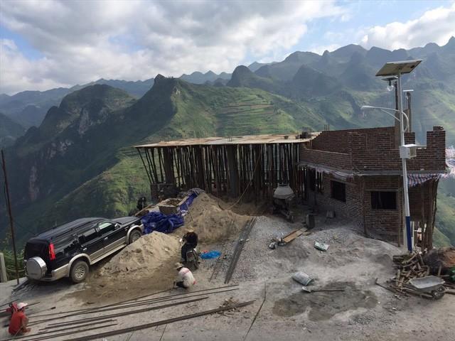 Hình ảnh quá trình xây dựng Panorama Mã Pì Lèng - Ảnh 1.