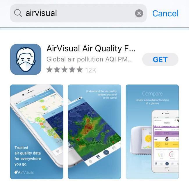 AirVisual trở lại sau vài ngày bay màu, dân mạng Việt đua nhau chấm 5 sao và bình luận khen nức nở - ảnh 2