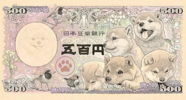 Nhật Bản sắp ra mắt tờ tiền in hình Shiba Inu đáng yêu siêu cấp vũ trụ khiến ai nhìn thấy cũng không nỡ tiêu - Ảnh 2.