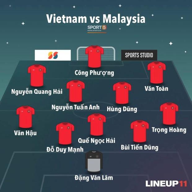 [Vòng loại World Cup 2022] Việt Nam 1-0 Malaysia (H2): Quang Hải lập siêu phẩm ngả người volley - Ảnh 1.