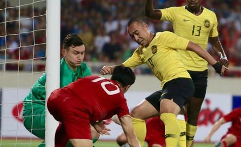 [Vòng loại World Cup 2022] Việt Nam 1-0 Malaysia (H2): Quang Hải lập siêu phẩm ngả người volley - Ảnh 18.
