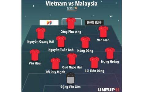 [Vòng loại World Cup 2022] Việt Nam 1-0 Malaysia (H2): Quang Hải lập siêu phẩm ngả người volley - Ảnh 31.