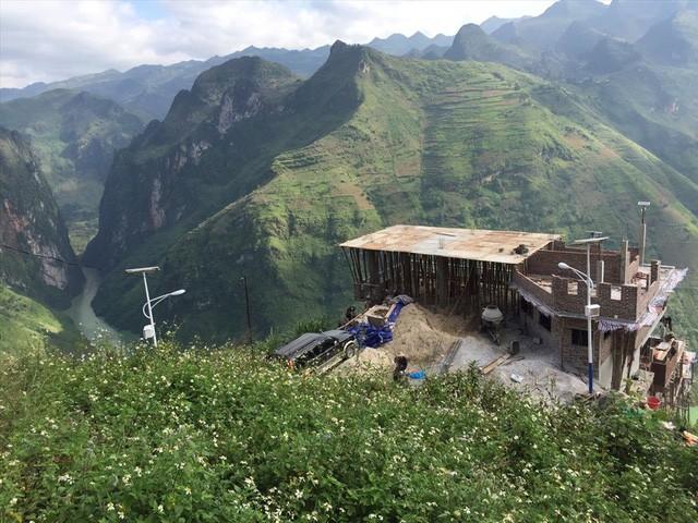 Hình ảnh quá trình xây dựng Panorama Mã Pì Lèng - Ảnh 3.