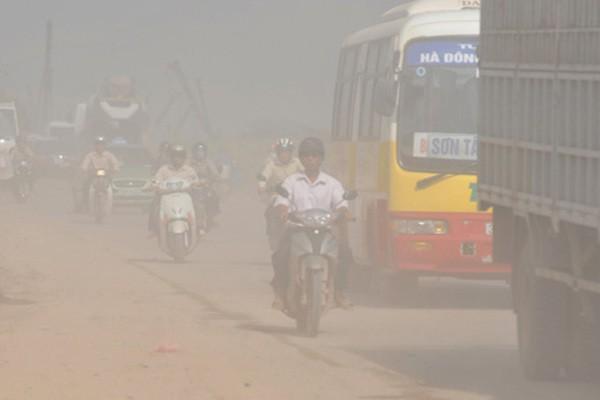 Kiểm tra báo cáo 2019 về ô nhiễm của Hà Nội dùng số liệu 2005 - Ảnh 1.