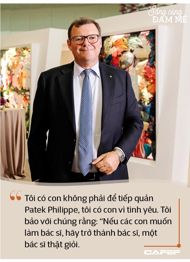 """Hậu duệ đời thứ 4 của dòng họ chế tác đồng hồ độc lập cuối cùng trên thế giới: """"Với Patek Philippe, vấn đề không phải là doanh thu và lợi nhuận - Ảnh 2."""