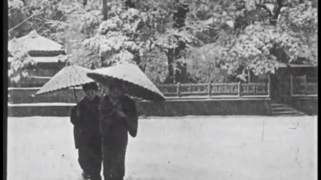 Đoạn video cực hiếm cho thấy cuộc sống tại Tokyo, Nhật Bản hơn 100 năm trước diễn ra như thế nào - Ảnh 3.