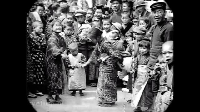 Đoạn video cực hiếm cho thấy cuộc sống tại Tokyo, Nhật Bản hơn 100 năm trước diễn ra như thế nào - Ảnh 4.