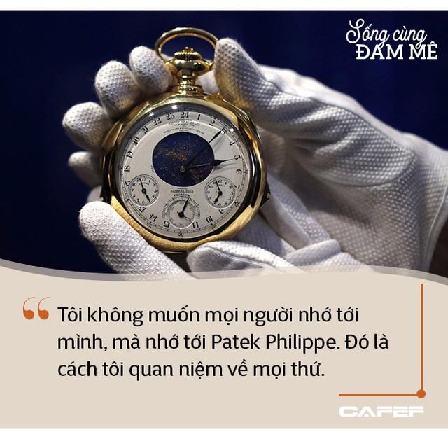 """Hậu duệ đời thứ 4 của dòng họ chế tác đồng hồ độc lập cuối cùng trên thế giới: """"Với Patek Philippe, vấn đề không phải là doanh thu và lợi nhuận - Ảnh 7."""
