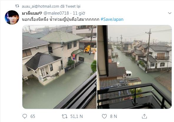 Cộng đồng mạng sửng sốt trước cảnh nước lũ ngập Nhật Bản vẫn sạch trong, không một cọng rác - Ảnh 4.