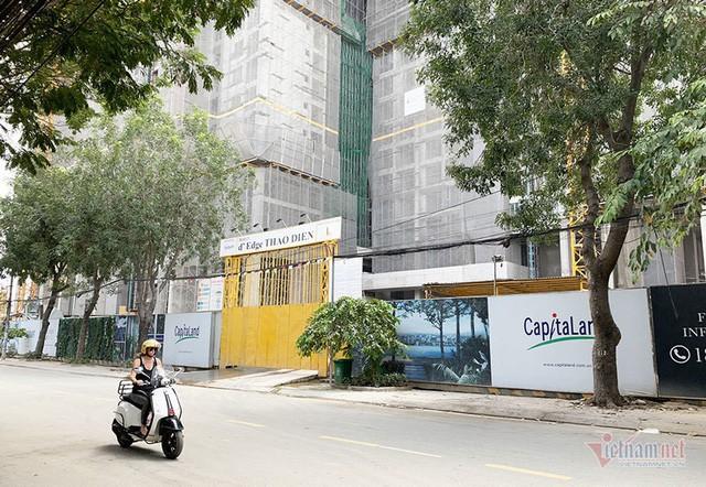 Bất chấp kẹt xe, ngập nước, khu nhà giàu Thảo Điền vẫn ken đặc dự án BĐS - Ảnh 7.