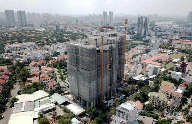 Bất chấp kẹt xe, ngập nước, khu nhà giàu Thảo Điền vẫn ken đặc dự án BĐS - Ảnh 8.