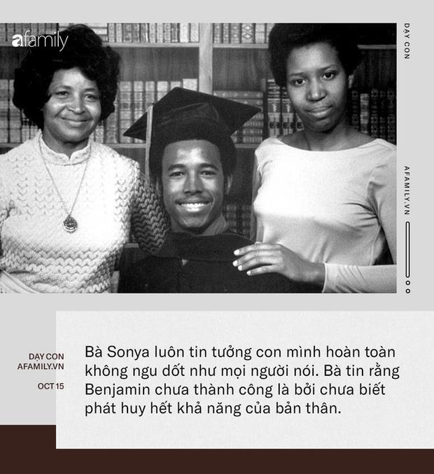 Nhờ cách dạy tuyệt vời của mẹ, cậu bé từng bị bạn bè gọi là kẻ đần độn trở thành bác sĩ lừng danh, còn tranh cử chức tổng thống Mỹ - Ảnh 2.