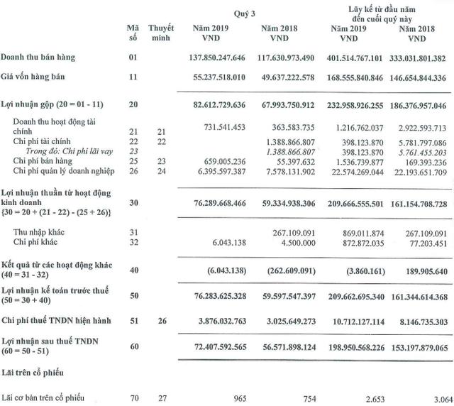 Tiền nhiều như nước Sông Đà: Lợi nhuận 9 tháng tăng trưởng 30%, vượt xa kế hoạch năm - Ảnh 2.