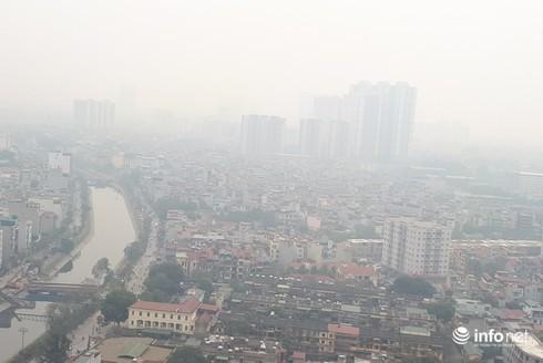 Ô nhiễm không khí ở Hà Nội khi nào mới hết? - Ảnh 1.