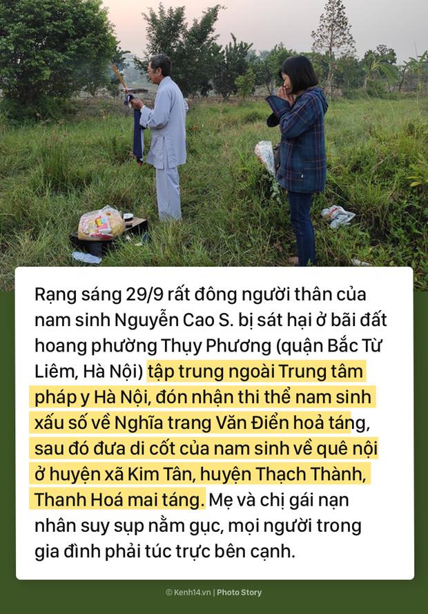 Toàn cảnh vụ nam sinh chạy Grab bị 2 thanh niên sát hại thương tâm ở Hà Nội khiến dư luận phẫn nộ - Ảnh 6.