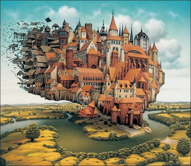 Chuyện buồn của Ivrea: Từ thành phố Utopia lý tưởng nhất trở thành niềm tiếc nuối vô hạn của nhân loại - Ảnh 1.