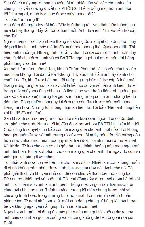 NS Xuân Hương tung chương cuối tự truyện về Thanh Bạch: Anh đã liên tục dùng những đòn tấn công đê tiện nhằm triệt đường sống của tôi - Ảnh 7.