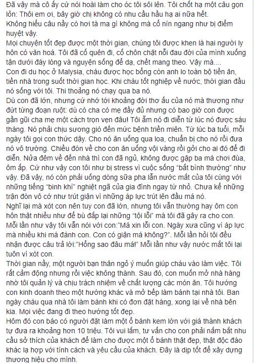 NS Xuân Hương tung chương cuối tự truyện về Thanh Bạch: Anh đã liên tục dùng những đòn tấn công đê tiện nhằm triệt đường sống của tôi - Ảnh 10.